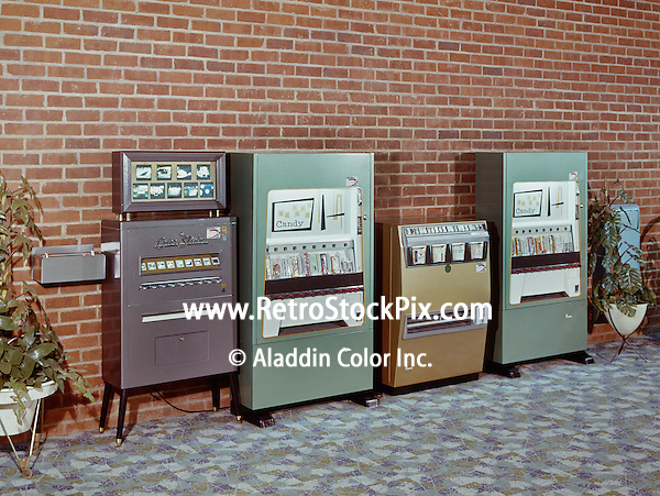 David Rosen, Coin operated machines for the sale of photographic slides, candy & popcorn.