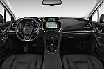 Stock photo of straight dashboard view of 2018 Subaru Impreza Premium 5 Door Hatchback Dashboard
