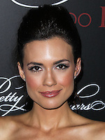 HOLLYWOOD, LOS ANGELES, CA, USA - MAY 31: Torrey DeVitto at the 'Pretty Little Liars' 100th Episode Celebration held at W Hotel Hollywood on May 31, 2014 in Hollywood, Los Angeles, California, United States. (Photo by Xavier Collin/Celebrity Monitor)