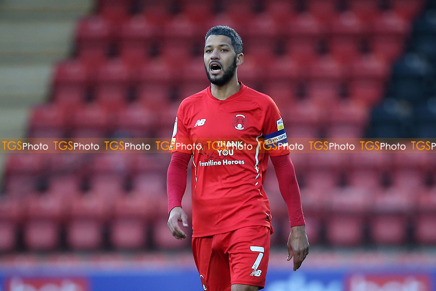 Jobi McAnuff of Leyton Orient during Leyton Orient vs Crawley Town, Sky Bet EFL League 2 Football at The Breyer Group Stadium on 19th December 2020