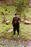 Shepherd near Buchin Prohod, 1986