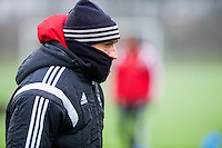 Thursday  21 January 2016<br /> Pictured: Swansea Head Coach Francesco Guidolin <br /> Re: Swansea City Training Session at the Fairwood training ground