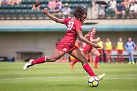 STANFORD, CA - September 3, 2017: Catarina Macario at Cagan Stadium. Stanford defeated Navy 7-0.