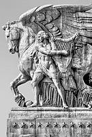 "Memorial Bridge Statues Washington DC<br /> ""The Arts of Peace"""