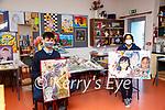 Full Marks : St. Joseph's College, Ballybunion students John Prendergast & Alice Noel who gained access to to the Limerick Schoo of Art & Design scoring full marks in the entrance examine.