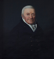 A portrait of Dr. Graham of Dalkeith in the serving room, next to the dining room