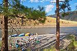 Washington State, river rafting, river campsite, Grande Ronde River, Eastern Washington, Pacific Northwest,
