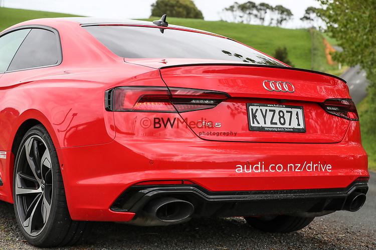 Audi RS5 2018. Hampton Downs, Waikato. 30 October 2017. Photo: Simon Watts/www.bwmedia.co.nz