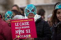 18.02.2020 - Le Case Delle Donne Non Si Toccano - Hands Off Women Houses Demo Outside Campidoglio