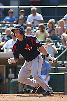 Tim Federowicz #18 of the Salem Red Sox at bat during a game against the Myrtle Beach Pelicans on May 16, 2010 at BB&T Coastal Field in Myrtle Beach, SC.