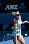 Maria Sharapova (RUS) loses to Dominika Cibulkova (SVK) 4-6, 6-4, 6-1  at the Australian Open in Melbourne, Australia on January 20, 2014