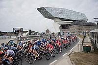 at the race start in Antwerpen<br /> <br /> Women Elite - Road Race (WC)<br /> from Antwerp to Leuven (158km)<br /> <br /> UCI Road World Championships - Flanders Belgium 2021<br /> <br /> ©kramon