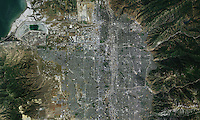 aerial photo map of Salt Lake City, Utah, 2011.  For more recent aerial photo maps of Salt Lake City, please contact Aerial Archives.