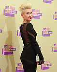 Miley Cyrus at The 2012 MTV Video Music Awards held at Staples Center in Los Angeles, California on September 06,2012                                                                   Copyright 2012  DVS / Hollywood Press Agency