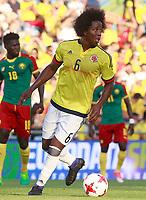 Colombia's Carlos Sanchez during international friendly match. June 13,2017.(ALTERPHOTOS/Acero) (NortePhoto.com) (NortePhoto.com)