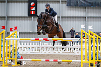 NZL-Sophia Blackbourn rides Octavia MVNZ. Class 30: Sky Sport Next 1.30m-1.35m 10K - FINAL. 2021 NZL-Easter Jumping Festival presented by McIntosh Global Equestrian and Equestrian Entries. NEC Taupo. Sunday 4 April. Copyright Photo: Libby Law Photography