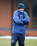 Brazilian defender Emilson Cribari feeling the cold