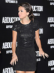 Selena Gomez decides not to walk the carpet  at The Lionsgate Premiere of ABDUCTION  held at The Grauman's Chinese Theatre in Hollywood, California on September 15,2011                                                                               © 2011 DVS/ Hollywood Press Agency