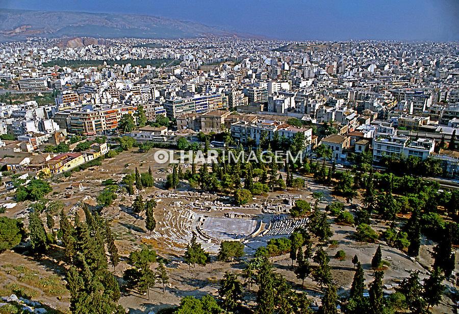 Cidade de Atenas. Grécia. 1995. Foto de Rogério Reis.