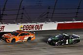 #96: Daniel Suarez, Gaunt Brothers Racing, Toyota Camry ARRIS now CommScope, #1: Kurt Busch, Chip Ganassi Racing, Chevrolet Camaro Monster Energy