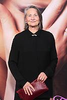 NEW YORK, NY - SEPTEMBER 14: Cherry Jones at the New York Premiere of The Eyes Of Tammy Faye at the SVA Theatre in New York City on September 14, 2021. Credit: Erik Nielsen/MediaPunch
