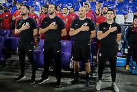 Orlando, FL - Friday Oct. 06, 2017: Pat Noonan, Kenny Arena, Matt Reis during a 2018 FIFA World Cup Qualifier between the men's national teams of the United States (USA) and Panama (PAN) at Orlando City Stadium.