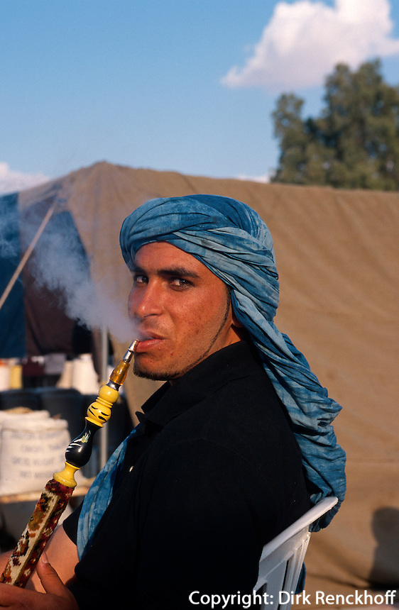 Wasserpfeife, Douz, Tunesien