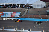 Verizon IndyCar Series<br /> Desert Diamond West Valley Phoenix Grand Prix<br /> Phoenix Raceway, Avondale, AZ USA<br /> Saturday 29 April 2017<br /> Takuma Sato, Andretti Autosport Honda, Ed Carpenter, Ed Carpenter Racing Chevrolet<br /> World Copyright: Scott R LePage<br /> LAT Images<br /> ref: Digital Image lepage-170429-phx-3415