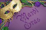 New Orleans Mardi Gras decoration