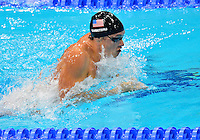 July 28, 2012: Eric Shanteau of the United States competes in Men's 100m Butterfly semifinal event at the Aquatics Center on day one of 2012 Olympic Games in London, United Kingdom.