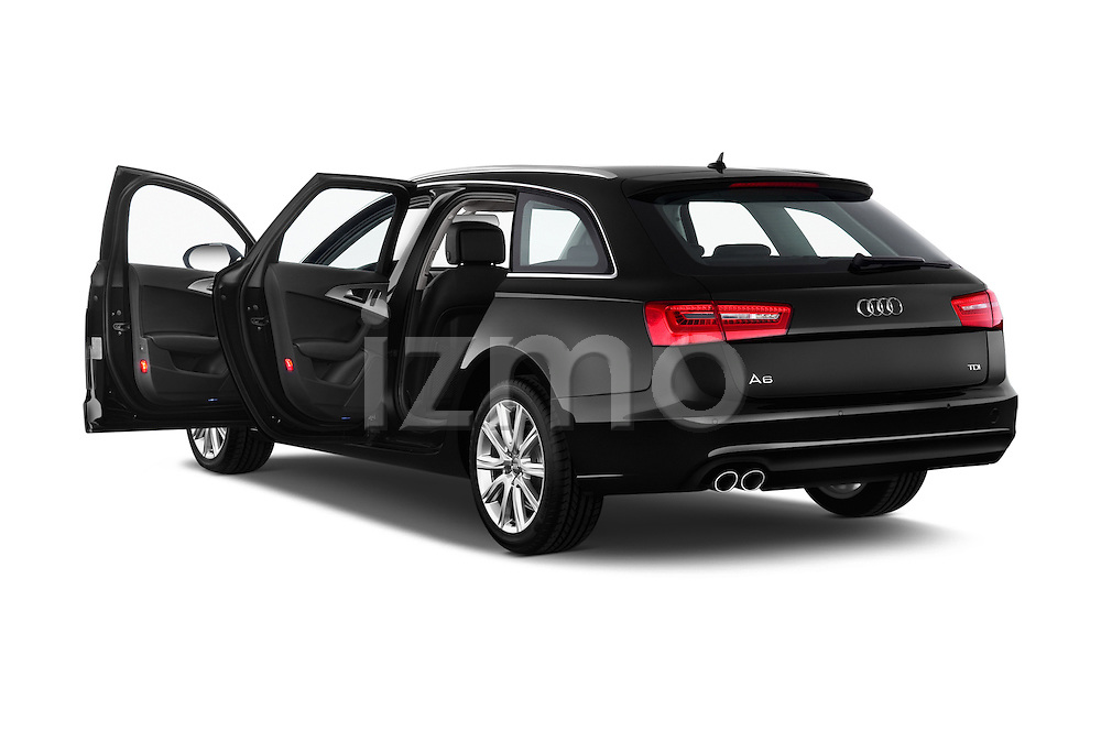 Rear three quarter door view of a 2014 Audi A6 AVUS 5 Door Wagon 2WD