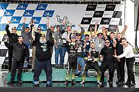 #14: Vasser Sullivan Lexus RC F GT3, GTD: Jack Hawksworth , Aaron Telitz, podium, Lexus Guests