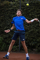 Hilversum, Netherlands, August 10, 2016, National Junior Championships, NJK, Amadatus Admiraal (NED)<br /> Photo: Tennisimages/Henk Koster