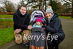 James, Valerie and Joanne Henry enjoying a stroll in the Tralee Town park on Sunday.