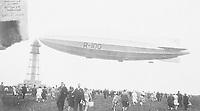 Airship R-100 at St. Hubert, P.Q., August 3rd, 1930.