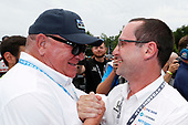 Chip Ganassi and Barry Wanser  #10: Alex Palou, Chip Ganassi Racing Honda