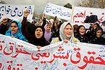 Shia Law Protest in Kabul