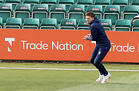 Matt Salisbury of Durham warms up prior to Essex CCC vs Durham CCC, LV Insurance County Championship Group 1 Cricket at The Cloudfm County Ground on 15th April 2021