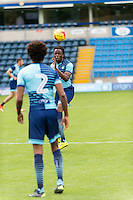 Marcus Bean of Wycombe Wanderers during the Open Training Session in front of supporters during the Wycombe Wanderers 2016/17 Team & Individual Squad Photos at Adams Park, High Wycombe, England on 1 August 2016. Photo by Jeremy Nako.