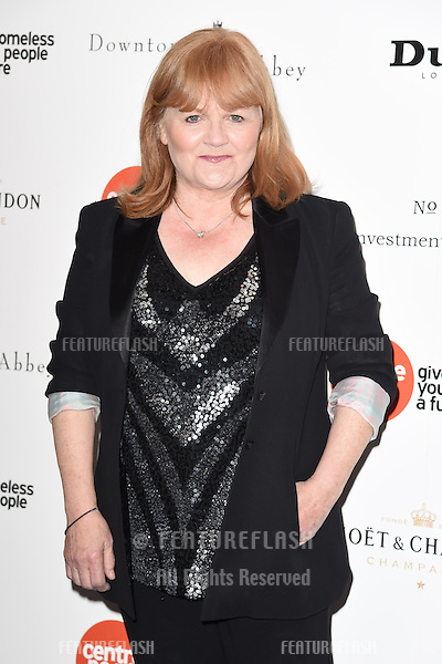 Lesley Nicol arrives for The Downton Abbey Ball 2015 in aid of Centrepoint charity at the Savoy Hotel, London. 30/04/2015 Picture by: Steve Vas / Featureflash