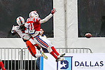 Louisiana Tech Bulldogs defensive back Adairius Barnes (21) in action during the Heart of Dallas Bowl Bowl game between the Illinois Fighting Illini and the Louisiana Tech Bulldogs at the Cotton Bowl Stadium in Dallas, Texas. Louisiana defeats Illinois 35 to 18.