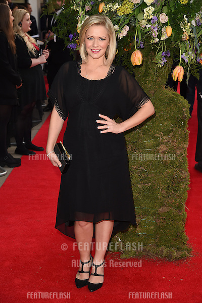 """Suzanne Shaw arrives for the premiere of """"A Little Chaos"""" at the Odeon Kensington, London. 13/04/2015 Picture by: Steve Vas / Featureflash"""