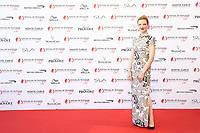 Monte-Carlo, Monaco, 16/06/2017 - 57th Monte-Carlo Television Festival Opening Ceremony Red Carpet. Odile Vuillemin. # 57EME FESTIVAL DE LA TELEVISION DE MONTE-CARLO - RED CARPET OUVERTURE