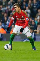 Saturday, 9 March 2013<br /> <br /> Pictured: Pablo Herandez of Swansea City<br /> <br /> Re: Barclays Premier League West Bromich Albion v Swansea City FC  at the Hawthorns, Birmingham, West Midlands