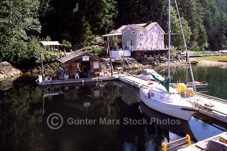 Kildonan Cannery Lodge, Uchucklesaht Inlet, Vancouver Island, BC, British Columbia, Canada - Historic West Coast Cannery House