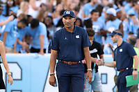 CHAPEL HILL, NC - SEPTEMBER 07: Wide Receivers Coach Lonnie Galloway of the University of North Carolina during a game between University of Miami and University of North Carolina at Kenan Memorial Stadium on September 07, 2019 in Chapel Hill, North Carolina.