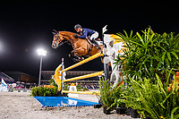 AUS-Kevin McNab rides Don Quidam during the Eventing Individual Jumping Final (MEDAL). Tokyo 2020 Olympic Games. Monday 2 August 2021. Copyright Photo: Libby Law Photography