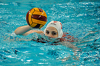 20200126 - GENT, BELGIUM : Gentse's (11) Janne Laton pictured during the waterpolo game Gentse KGZV and Eeklo MVZ , waterpolo game between Gentse KGZV and Eelko MVZ , at swimming pool Strop in Gent , saturday 1 th February 2020 . PHOTO SPORTPIX.BE | STIJN AUDOOREN