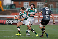Laurence May of Ealing Trailfinders in action during the Championship Cup Quarter Final match between Ealing Trailfinders and Nottingham Rugby at Castle Bar , West Ealing , England  on 2 February 2019. Photo by Carlton Myrie / PRiME Media Images.