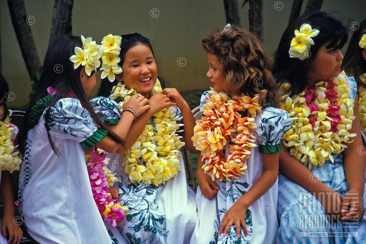 Keiki hula at the Waikiki Shell